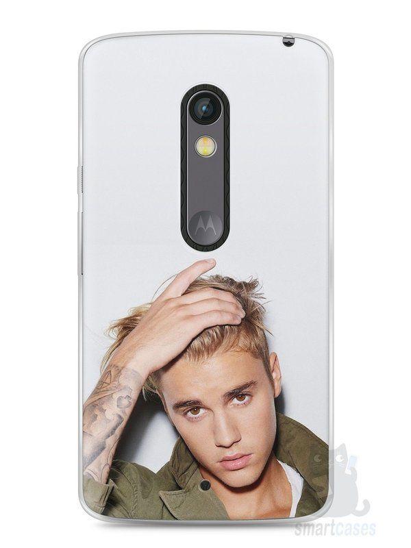 Capa Capinha Moto X Play Justin Bieber #3 - SmartCases - Acessórios para celulares e tablets :)