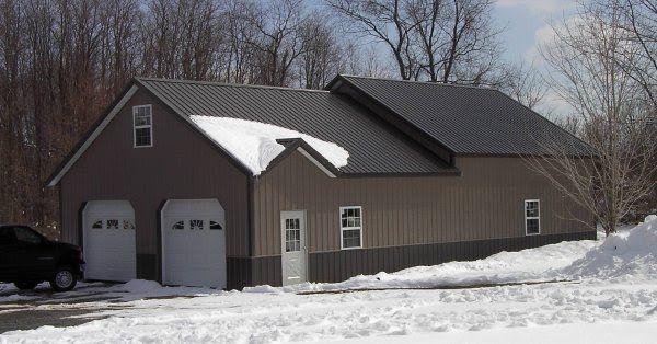 Buckskin Pole Barn Colors Bing Images Cabin Diy Pole Barn Pole Barn Designs Pole Barn Homes