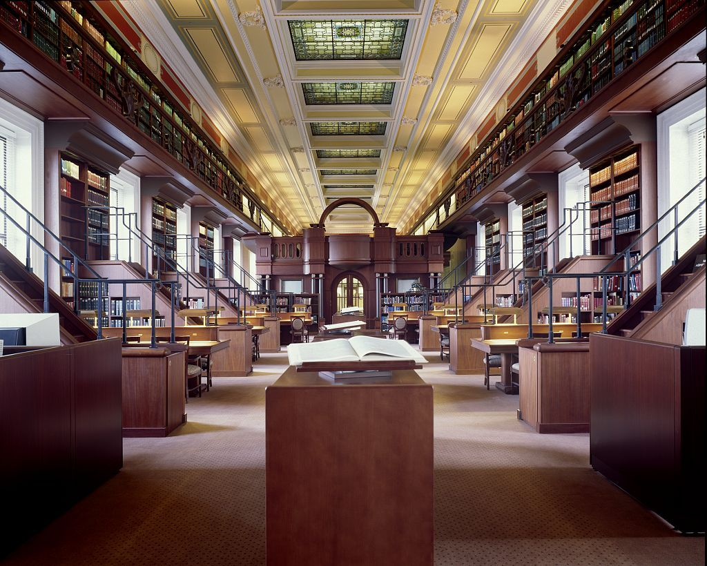 African And Middle Eastern Reading Room Area Studies Library Of Congress Thomas Jeffers Commercial And Office Architecture Library Of Congress Reading Room
