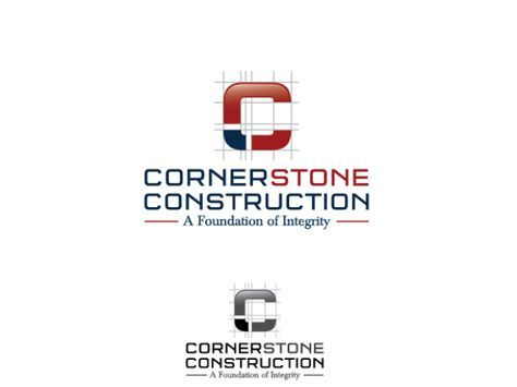 Cornerstone Construction - Logo Design #62 by thereeds92 Design - new circular letter format pdf