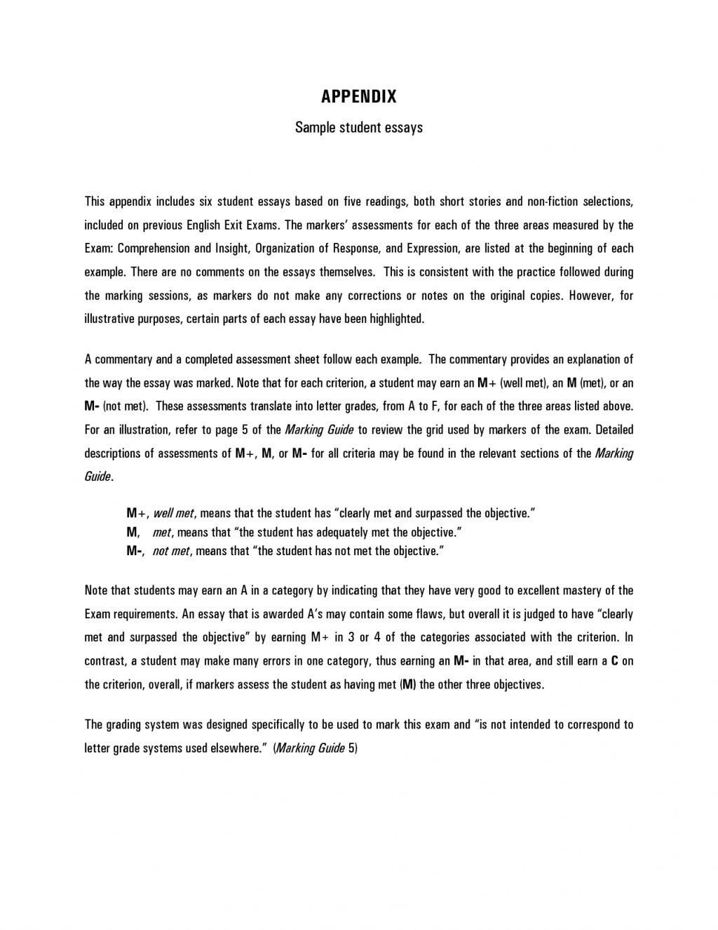 Examples Of Informative Writing Elegant 001 Essay Example