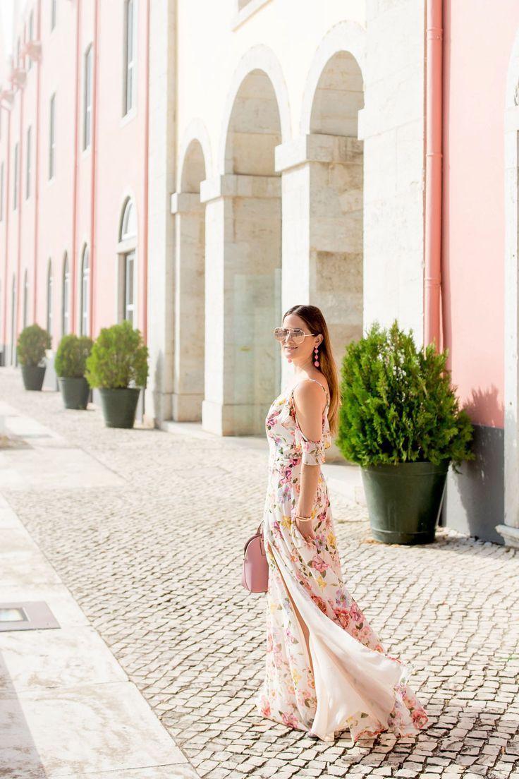 Yumi Kim Wildest Dreams Maxi Dress in 2020 Ruffle floral