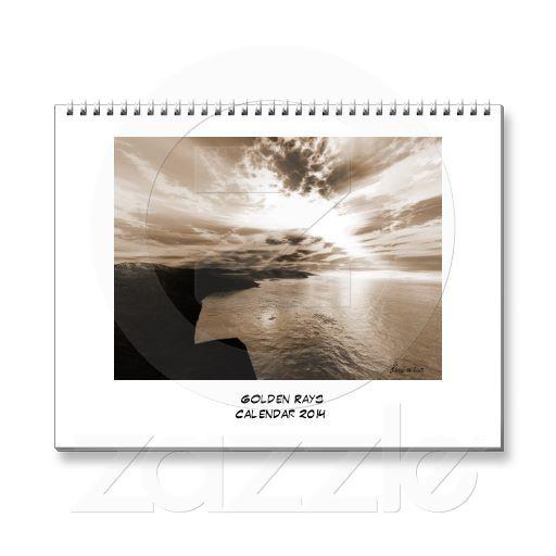 Golden Rays - 2014 Calendar