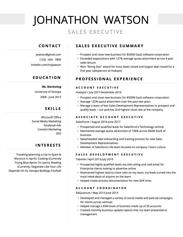 resume examples Google Search Resume profile, Resume