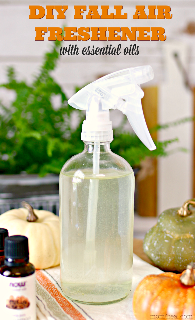 Diy Non Toxic Fall Air Freshener With Essential Oils Homemade