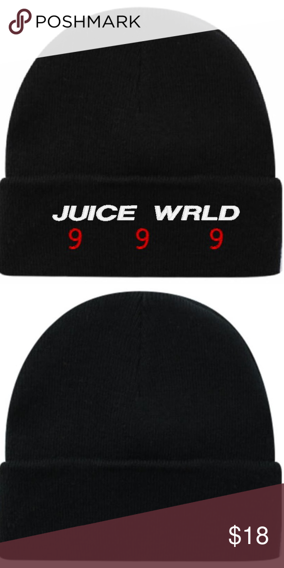 Juice Wrld 999 Beanie Black Beanie Black Beanie Beanie Women Accessories Hats