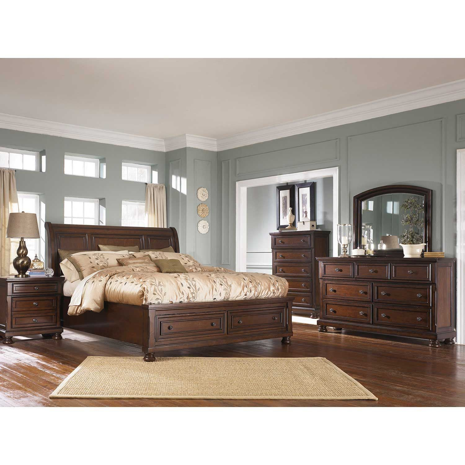 Porter 5 Piece Bedroom Set B6975Pcset  Ashley Furniture  Afw Beauteous Ashley Bedroom Dressers Decorating Design