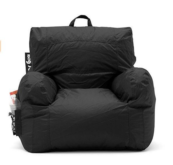 Excellent Details About Bean Bag Chair College Dorm Room Apt Black Dailytribune Chair Design For Home Dailytribuneorg