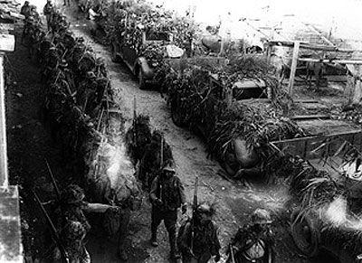 Japanese army entering french indochina peninsula photo taken japanese forces invasion of wuhan publicscrutiny Choice Image