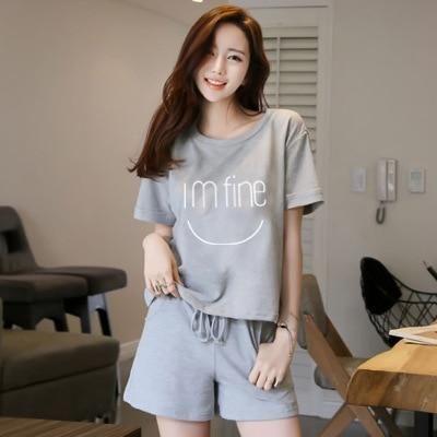 Free Shipping Mens Plus Size Short Sleeve Shorts V Collar Sleepwear Set Soft 100% Cotton Pajamas Nightgown Summer Homewear 5xl Delicacies Loved By All Underwear & Sleepwears