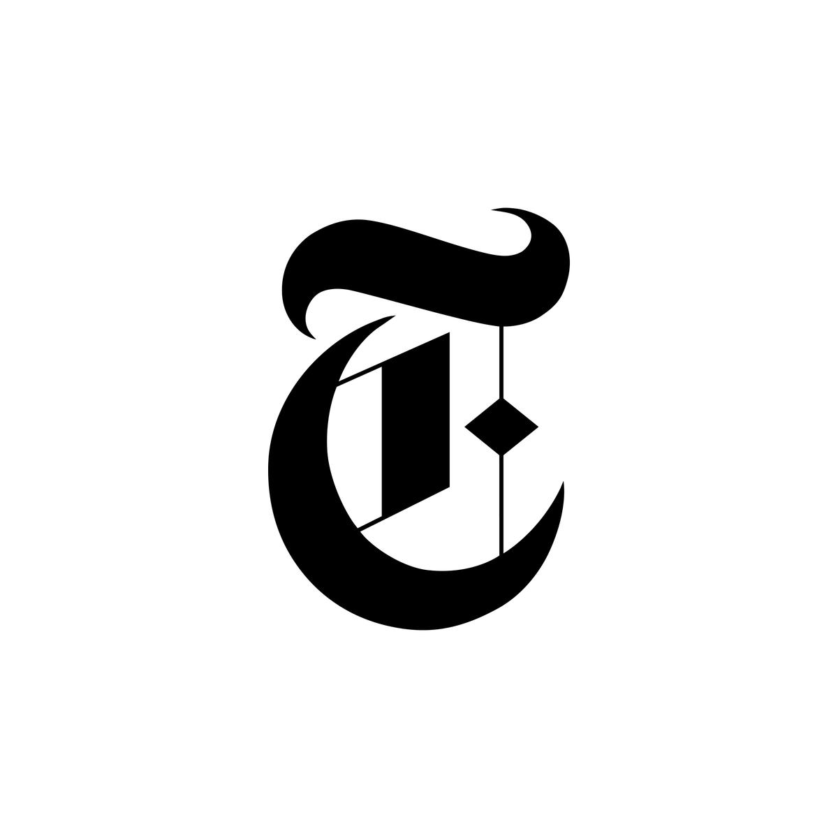 New York Times Logo United States Letter T New York Logo Lettering