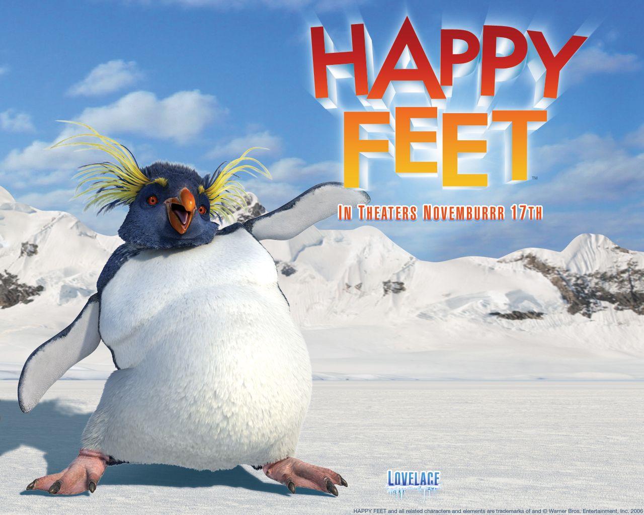 watch streaming hd happy feet, starring elijah wood, brittany murphy