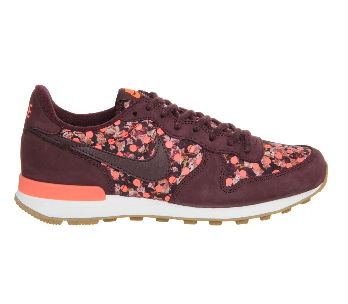 sports shoes 4ad80 be4fe ... release date nike internationalist w liberty deep burgundy bright mango  junior 687e5 66a21