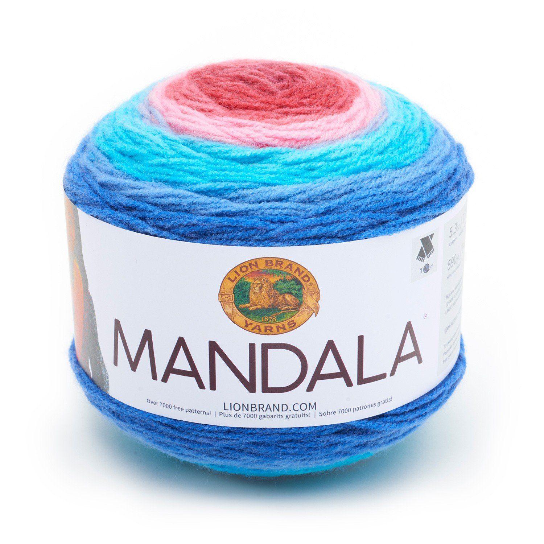 Lion Brand Mandala Yarn Phoenix Color Gradient Yarn