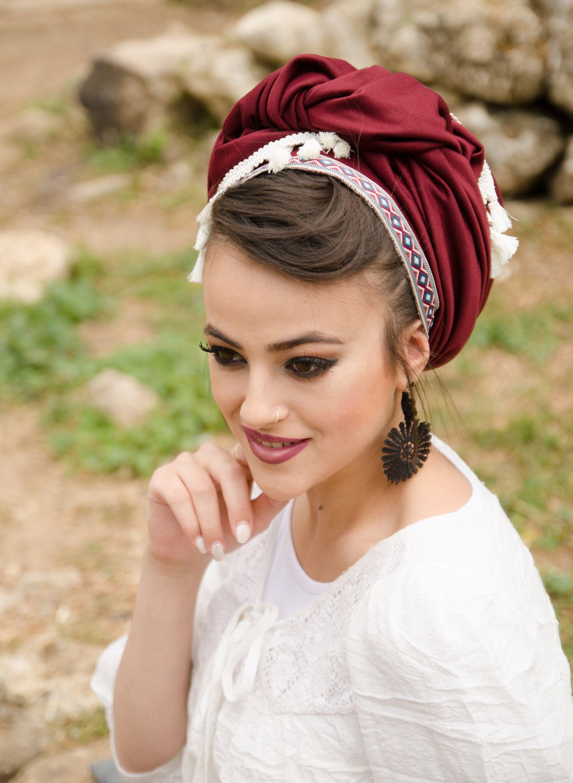 Turquoise Headband 14 Kerchief Bandana 3 Sizes