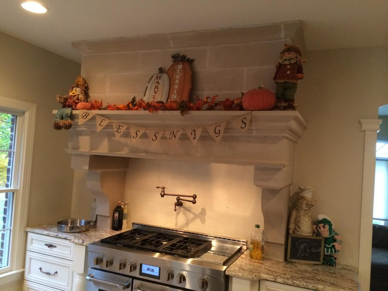 Customized Range Hood By Old World Stoneworks