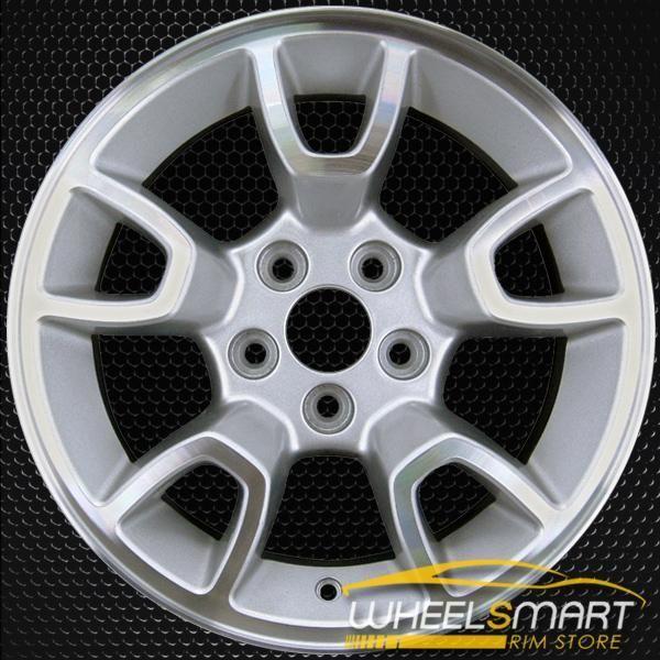 Ford Ranger Bolt Pattern >> 16 Ford Ranger Oem Wheel 2007 2011 Machined Alloy Stock Rim 3667