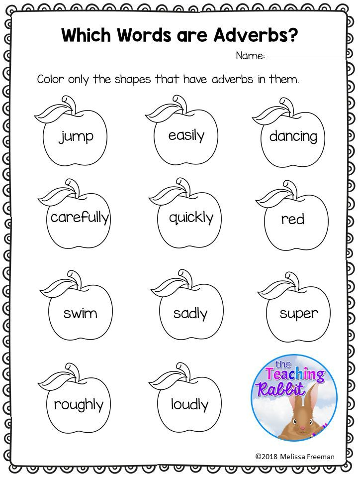 Adverbs Worksheets These worksheets for second grade focus on identifying and using adverbs in sent