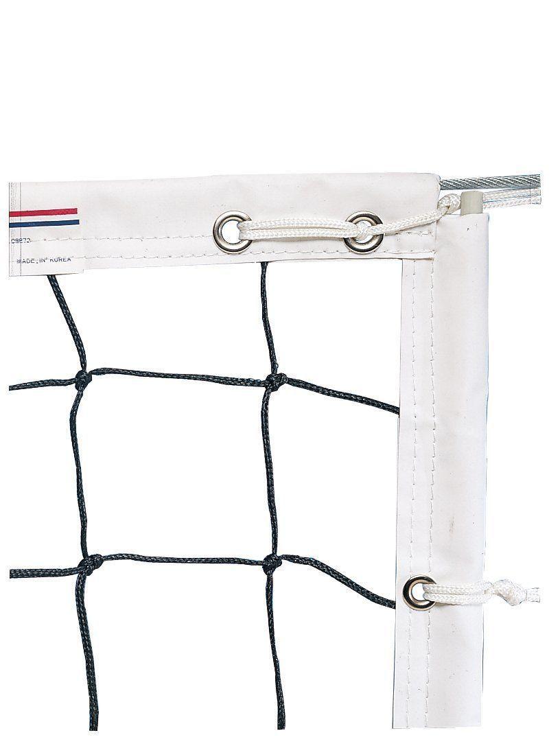 nets 159131 new champro varsity volleyball net 30 x 3 4 mesh