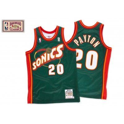Seattle Supersonics 1995 - 1996 Road Jersey - Gary Payton - Mitchell   Ness 04d49637f