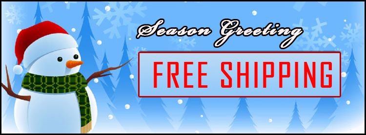 Season Greeting Free Shipping