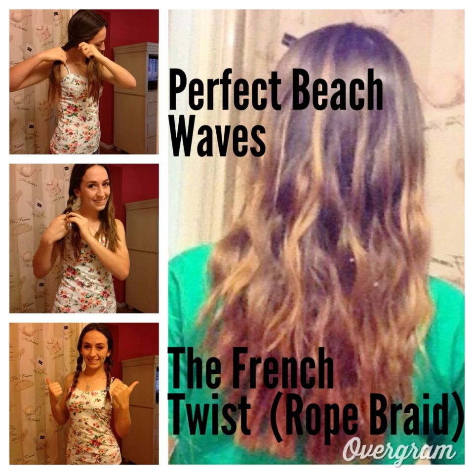 How To Get Beach Waves Overnight Jessoshii Wavy Hair Overnight Beach Waves For Short Hair How To Curl Short Hair