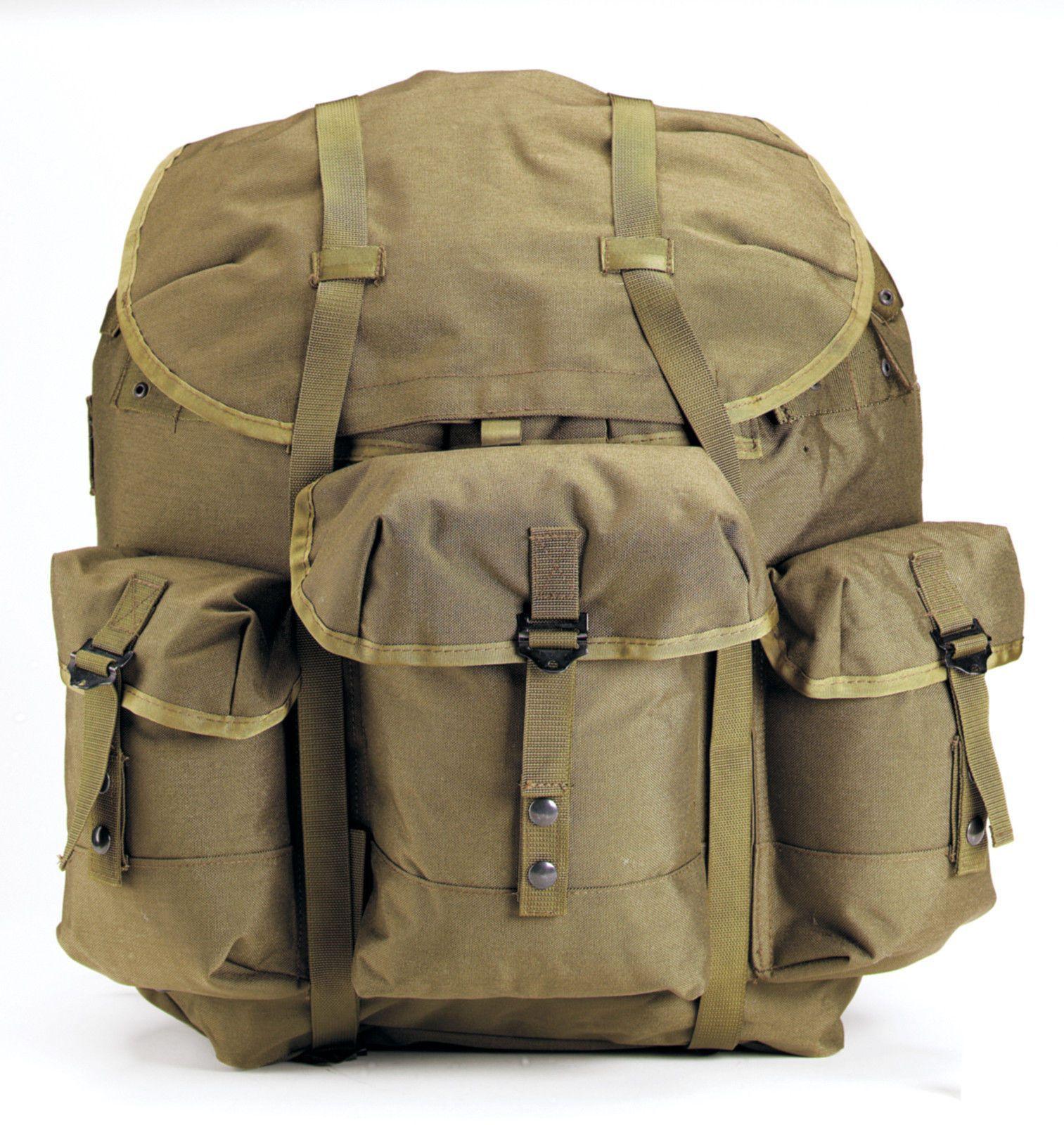 G.I. Military Type Enhanced Nylon Frame ALICE Packs Backpacks w ...