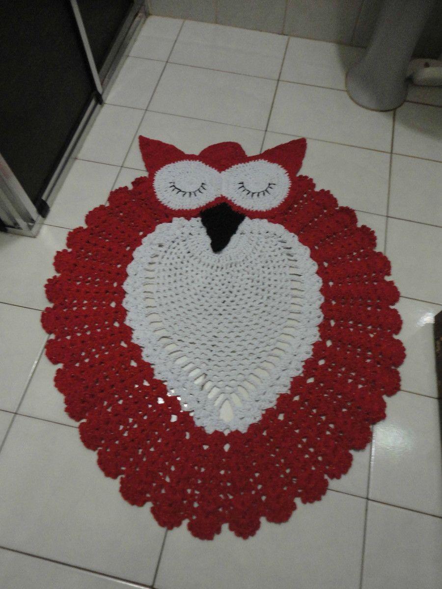 Tapete De Croch Infantil Coruja Grande -> Tapete Croche Grande
