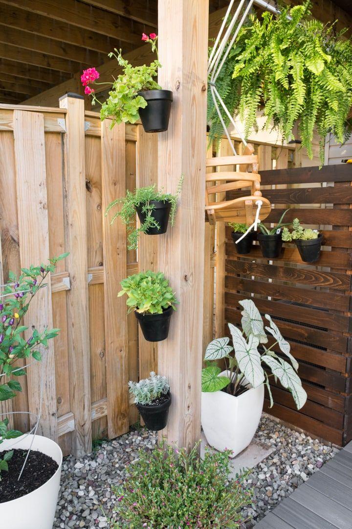 Small Townhouse Patio Ideas: My Tiny Backyard This Summer ...