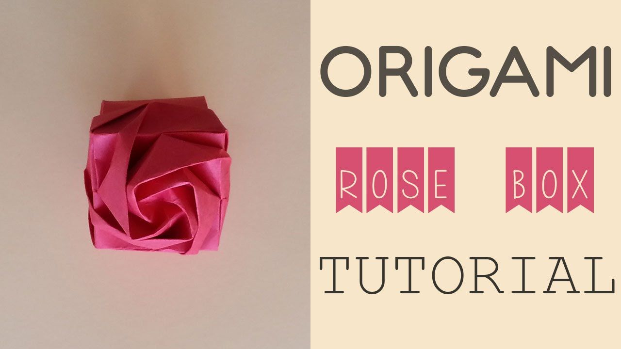 How to Make an Origami Rose Box - Snapguide | 720x1280
