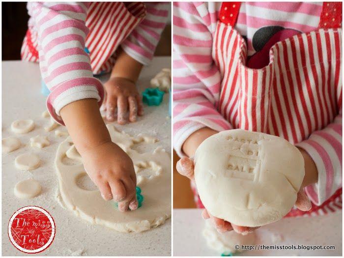 Biscotti Bambini ~ Biscotti magnetici pasta di sale salt dough magnetic cookies