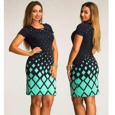 fashionable women dresses big size NEW 2016 plus size women clothing 6xl winter dress casual o-neck Plaid office bodycon Dress