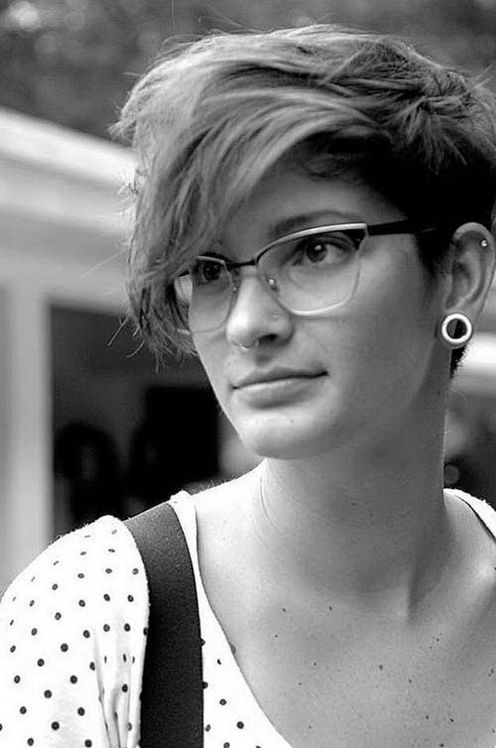 Pixie Mit Langer Bangs | Pixie Frisur pixie frisuren 2015