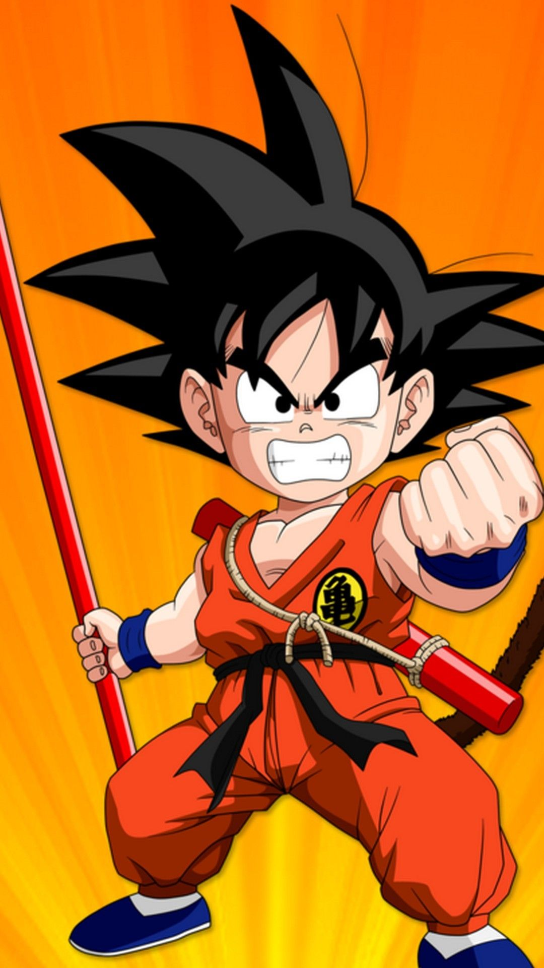 Kid Goku Wallpaper Android Goku wallpaper, Kid goku
