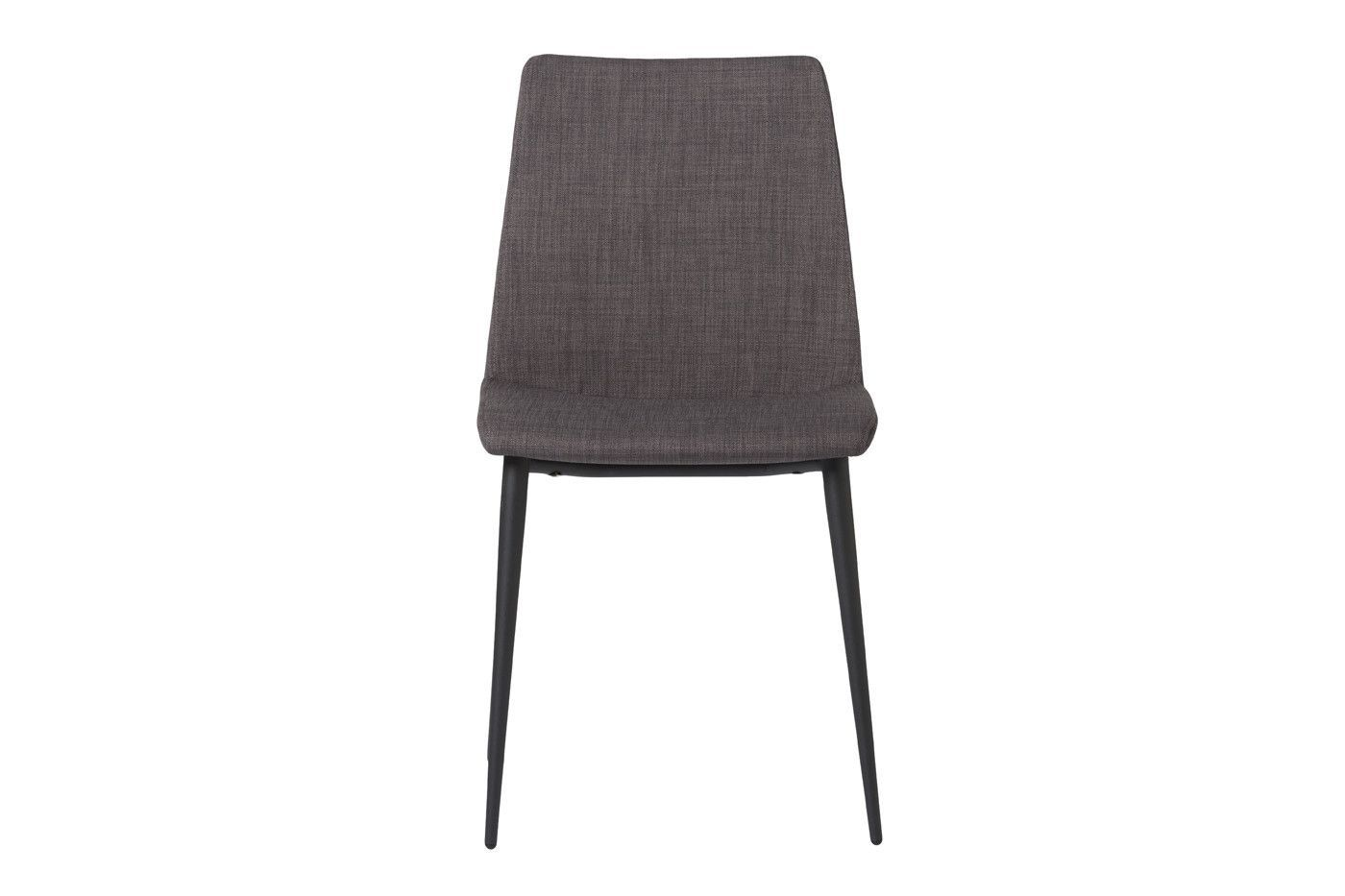 Charlie Side Chair Grey (Set Of 2) Fabric Steel