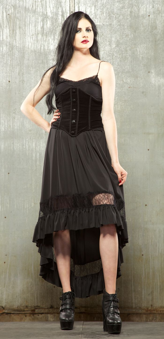 Two tiered black lace skirt riviting pinterest lip service