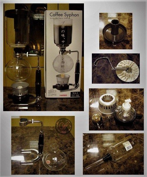 Tabletop Coffee Siphon