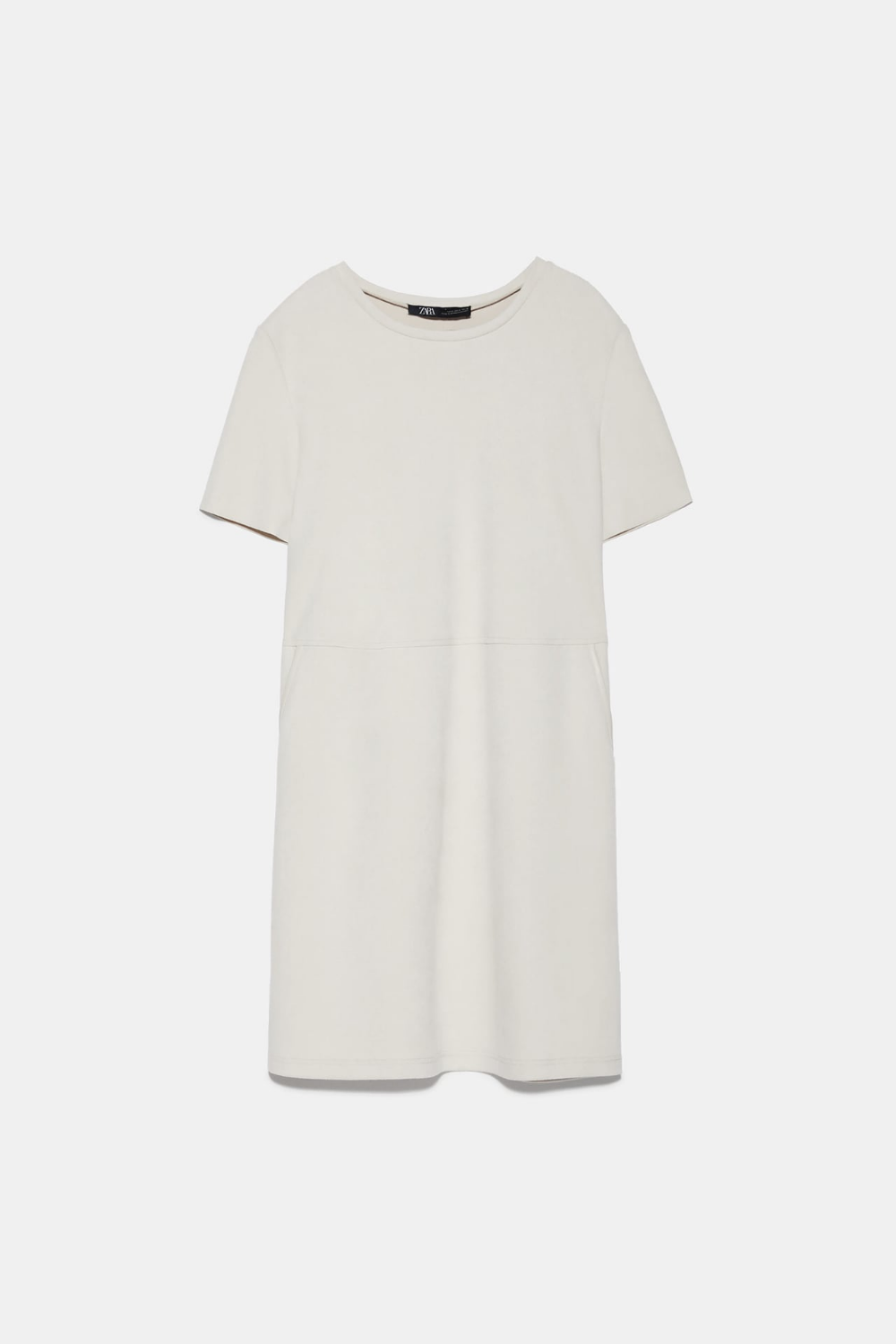 FAUX SUEDE DRESS ZARA France in 2020