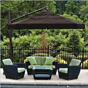 Huge Selection Of Cantilever Patio Umbrellas For Your Patio Or Pool Side.  Shading Yourself From Those Dangerous UV Rays Is Important So Get The Best  ...