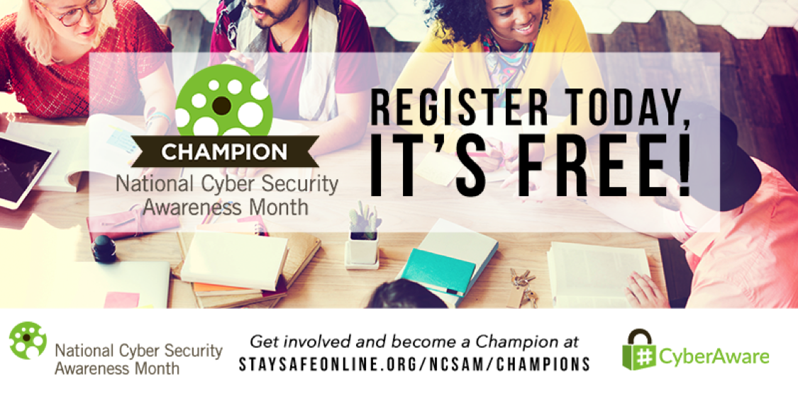 National Cybersecurity Awareness Month Cyber Security Awareness Cyber Security Awareness Month Cyber Security