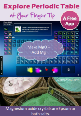 Free app interactive periodic table at your finger tip pinterest a free app kids can explore the periodic table freely test out hypothesis see the result instantly kidsapps stemapps urtaz Gallery