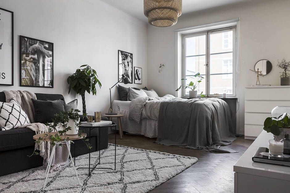 Gravityhome Studio Apartment Follow Gravity Home Blog Instagram Pinterest Facebo Apartment Layout Small Apartment Decorating Small Apartment Living