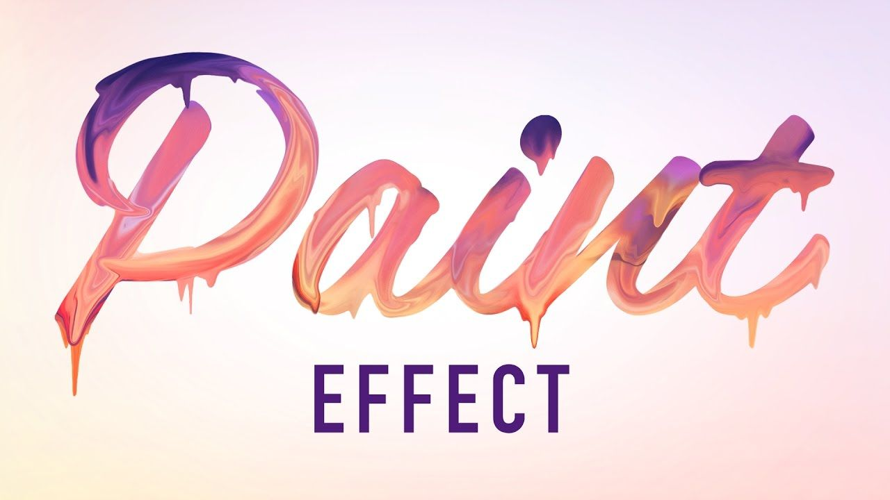 Learn How to Create Paint Dripping Text Effect in Adobe
