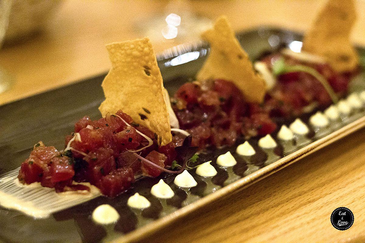 Tartar de atún rojo con wasabi - Naia Bistro