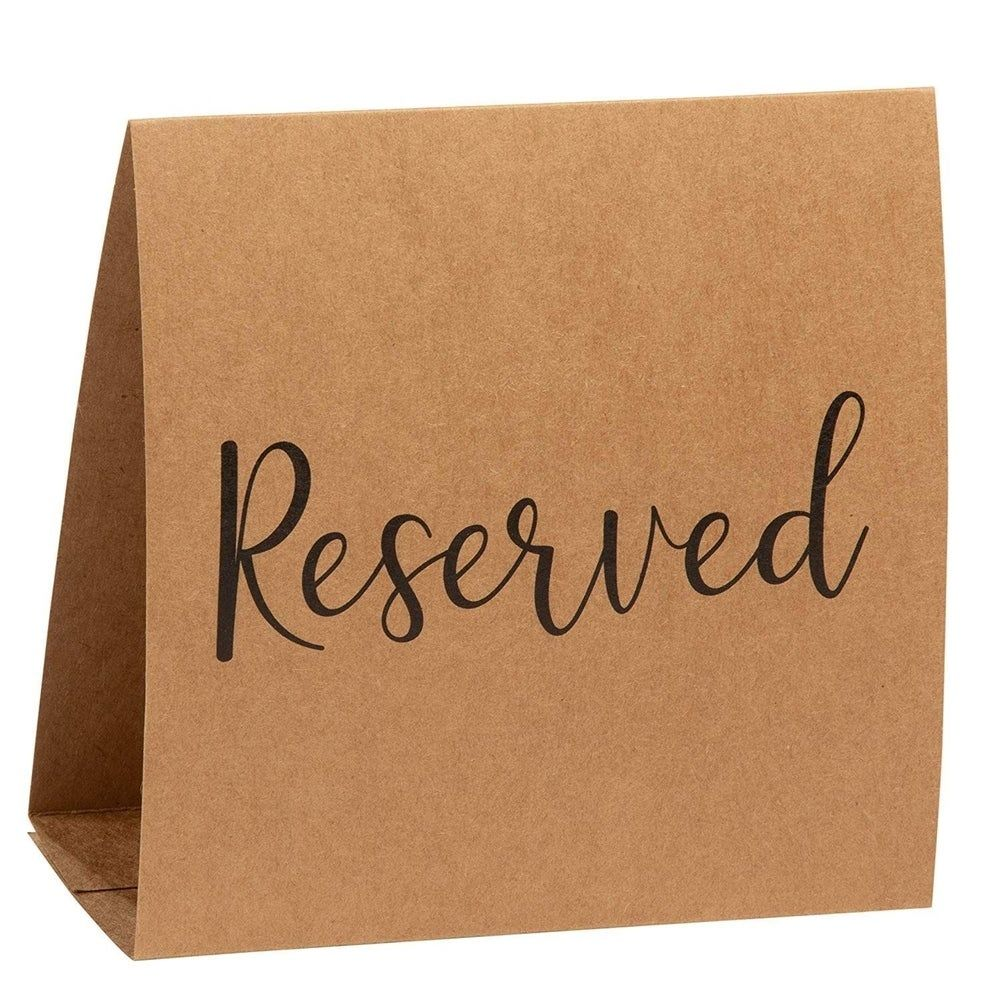 Overstock Com Online Shopping Bedding Furniture Electronics Jewelry Clothing More In 2020 Reserved Table Signs Reserved Signs Party Seating