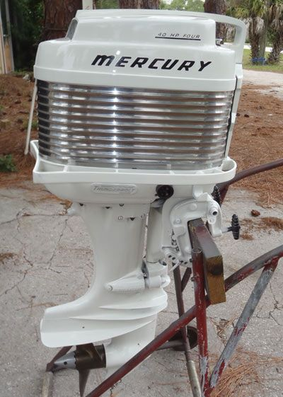 Mark 35a Antique Mercury 40 Hp Outboard Boat Motor Vintage Outboard Boat Motors Outboard Outboard Boats