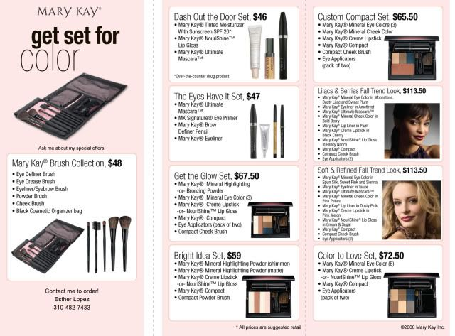 www.marykay.com/Moreno  FREE gift with purchase..Nationwide shipping!