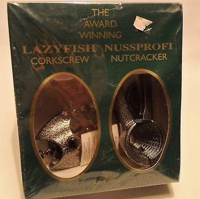 The Award Winning Lazyfish Corkscrew Nussprofi Nutcracker  Cork set New