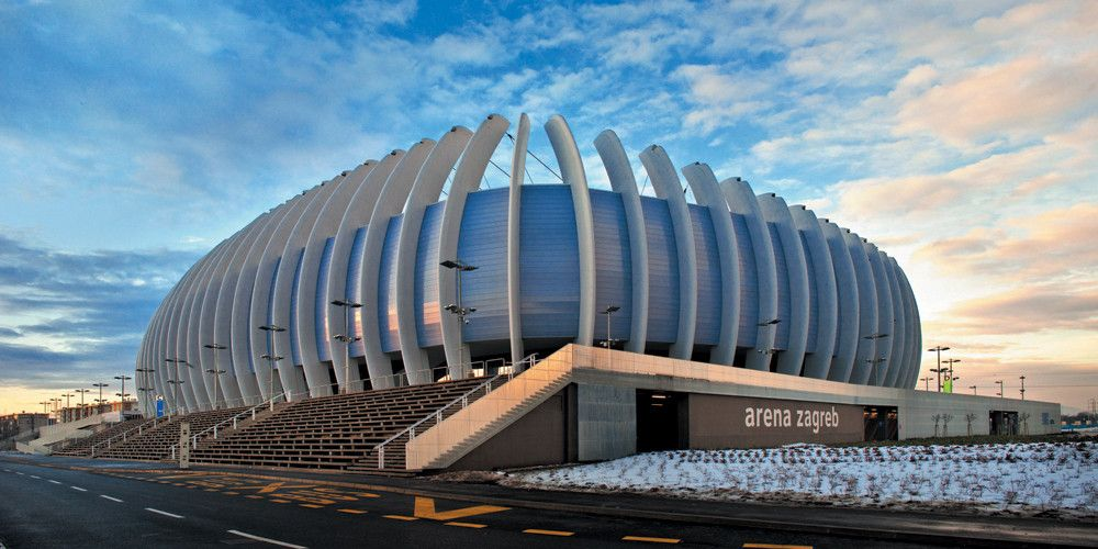 Gallery Of Arena Zagreb Upi 2m 1 Stadium Architecture Sports Facility Architecture Zagreb