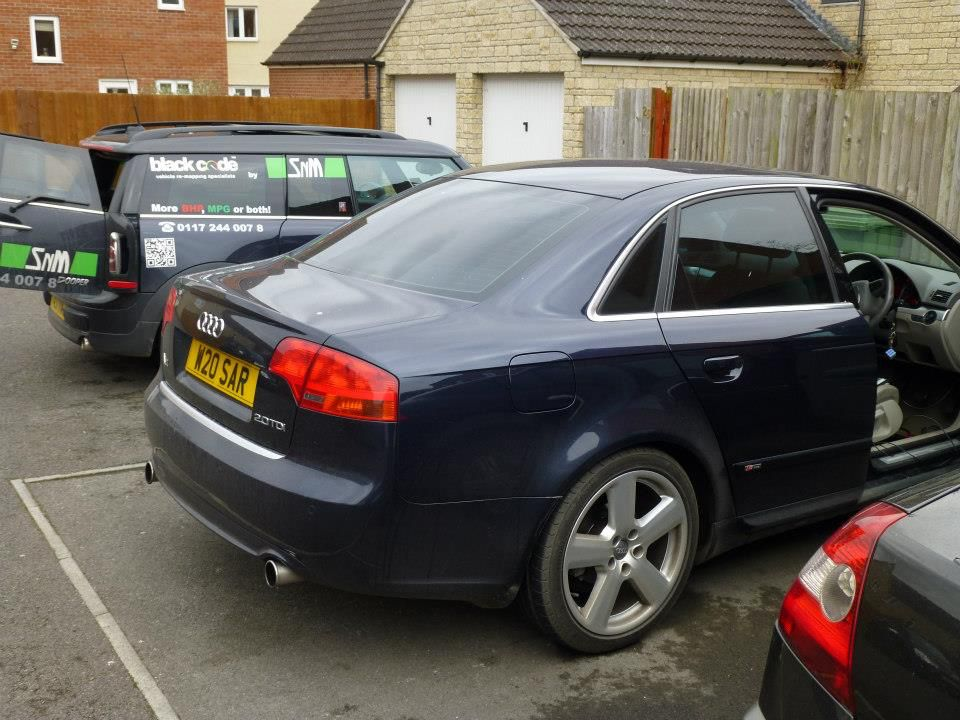 More Power Was Wanted In This 170 Bhp Audi A4 2 0 Tdi Audi A4